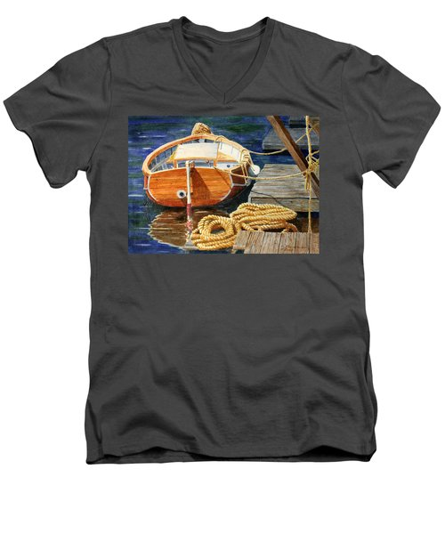 Safe Mooring Men's V-Neck T-Shirt