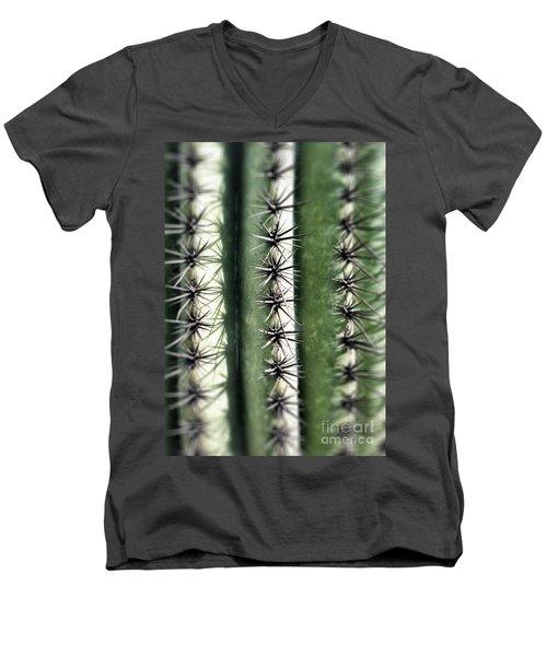 Saguaro Catus Needles Men's V-Neck T-Shirt