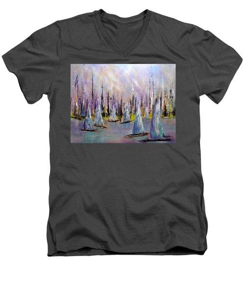 Sail II Men's V-Neck T-Shirt