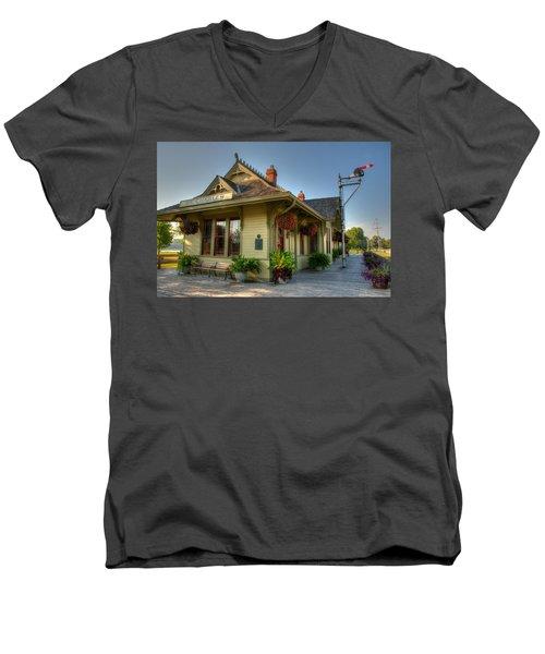 Saint Charles Station Men's V-Neck T-Shirt