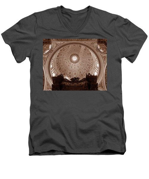 Saint Peter Dome Men's V-Neck T-Shirt