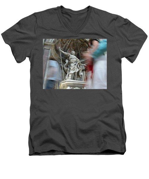 Saint Peters Traffic Men's V-Neck T-Shirt