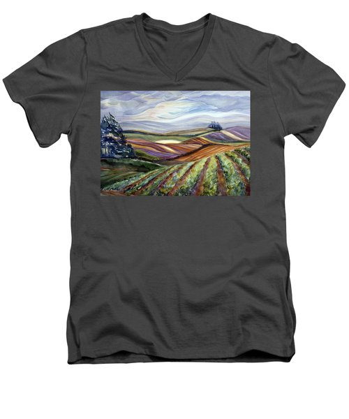 Salinas Tapestry Men's V-Neck T-Shirt