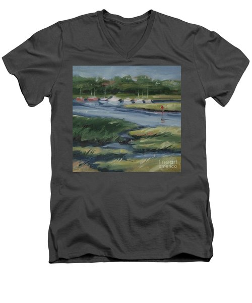 Salt Marsh Men's V-Neck T-Shirt