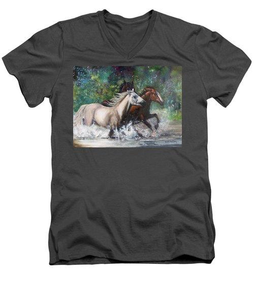 Salt River Horseplay Men's V-Neck T-Shirt