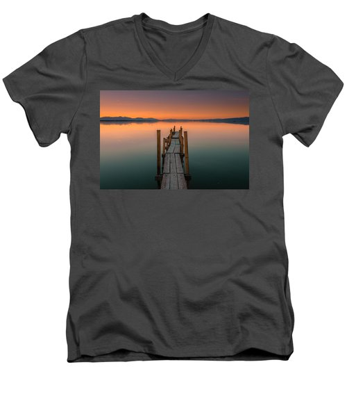 Salton Sea Dock Men's V-Neck T-Shirt