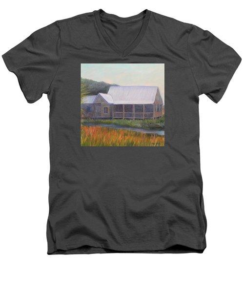 Saltwater Cowboys Men's V-Neck T-Shirt