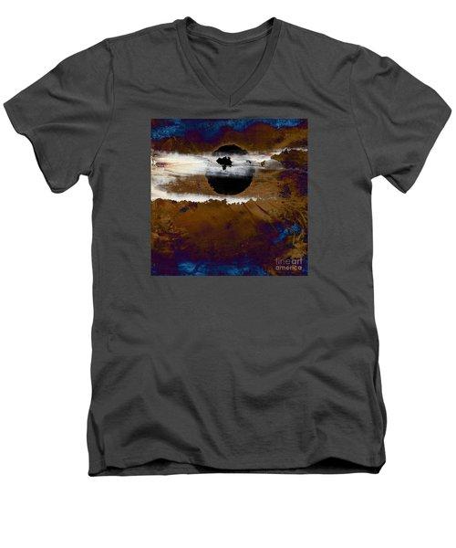 Samhain I. Winter Approaching Men's V-Neck T-Shirt by Paul Davenport