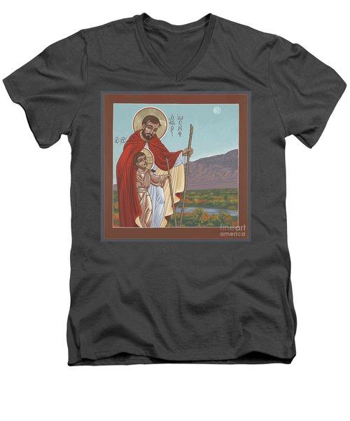 San Jose En El Rio Grande 268 Men's V-Neck T-Shirt