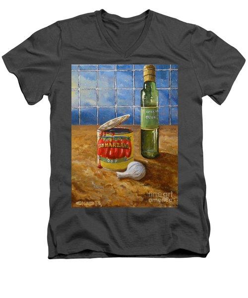 San Marzano Men's V-Neck T-Shirt