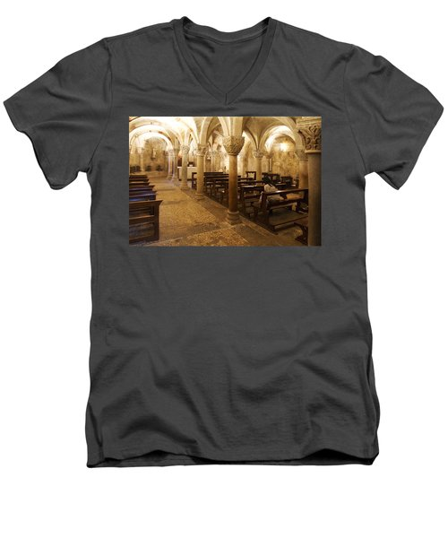 San Michele Chapel Men's V-Neck T-Shirt