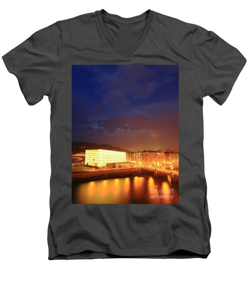 San Sebastian 8 Men's V-Neck T-Shirt