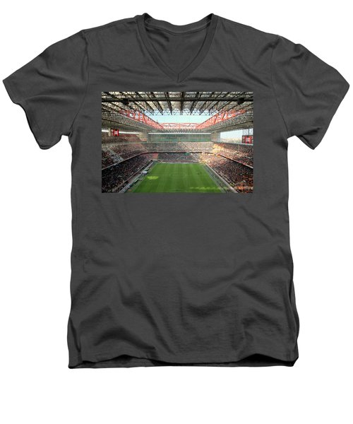San Siro Stadium Men's V-Neck T-Shirt