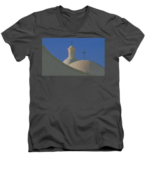 San Xavier Del Bac Men's V-Neck T-Shirt