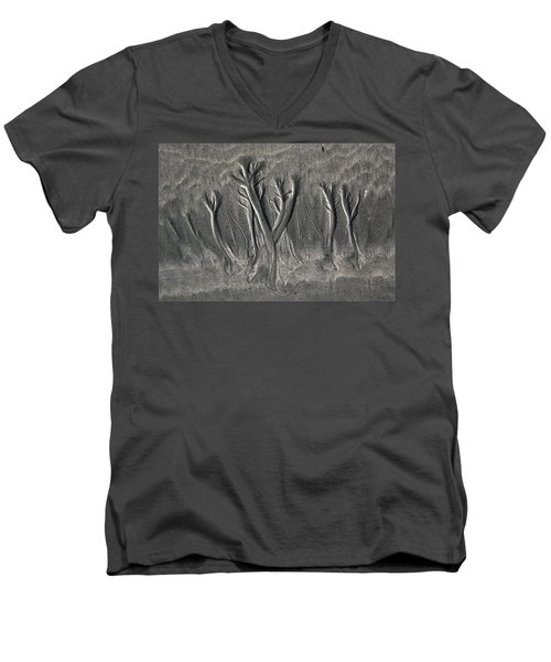 Sand Trees Men's V-Neck T-Shirt