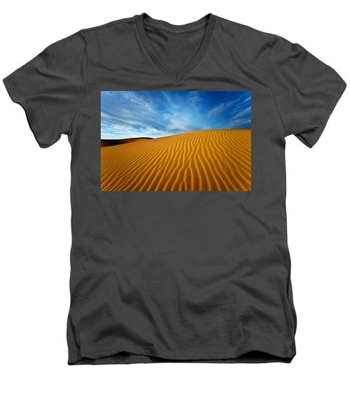 Sands Of Time Men's V-Neck T-Shirt
