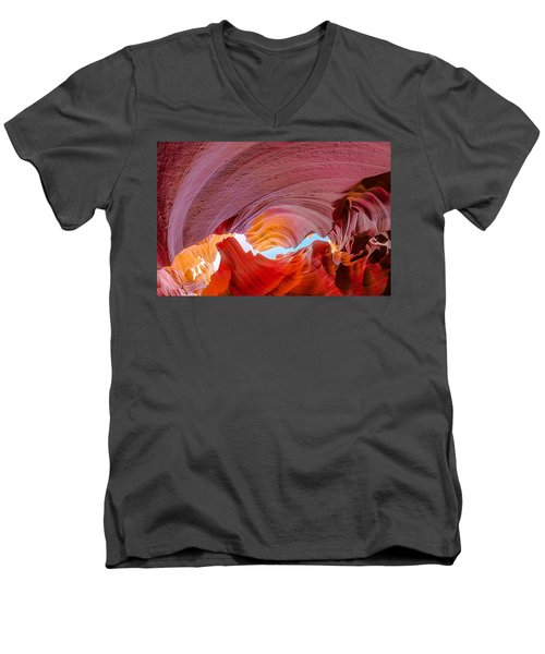 Sandstone Chasm Men's V-Neck T-Shirt