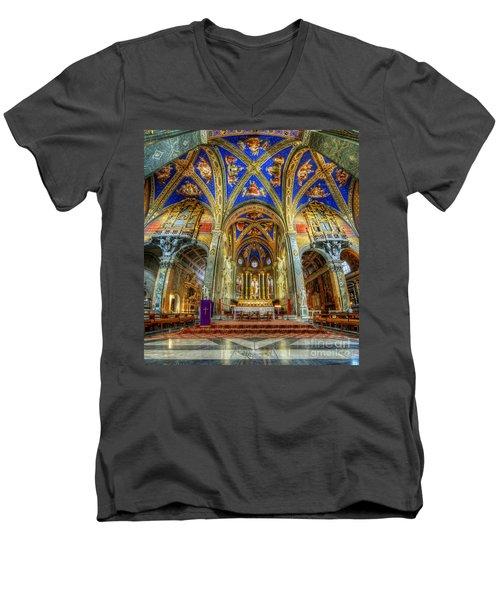 Santa Maria Sopra Minerva 2.0 Men's V-Neck T-Shirt