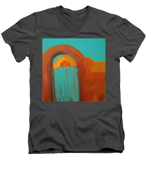 Sante Fe Men's V-Neck T-Shirt