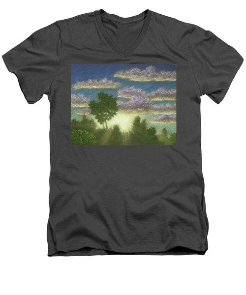 Santee Sunset 01 Men's V-Neck T-Shirt