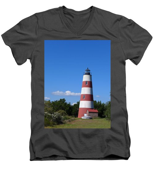Sapelo Light Men's V-Neck T-Shirt