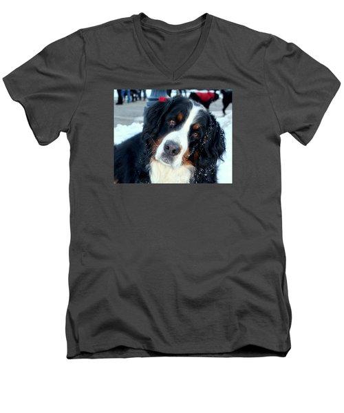 You Said You Love Me Men's V-Neck T-Shirt by Fiona Kennard