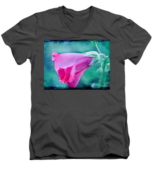Scarlet Mallow Men's V-Neck T-Shirt