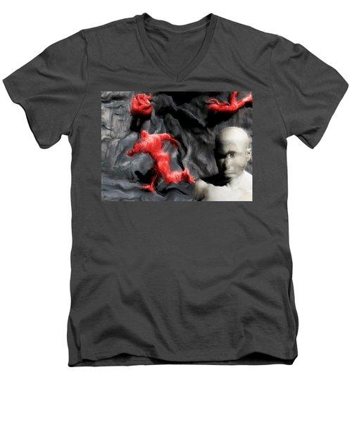 Schizophrenic Lucidity Men's V-Neck T-Shirt
