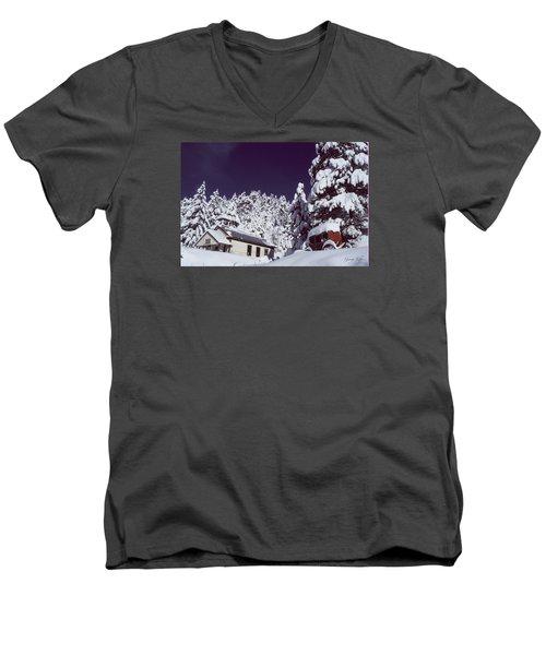 Schoolhouse Men's V-Neck T-Shirt