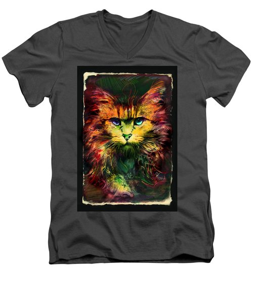 Schrodinger's Cat Men's V-Neck T-Shirt