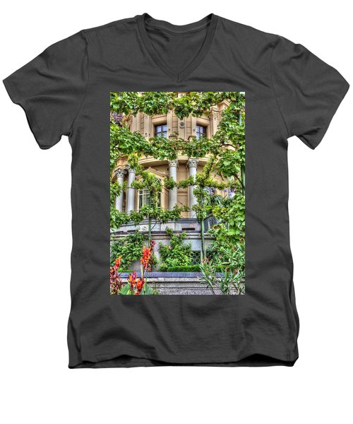 Schwerin Castle Windows. Men's V-Neck T-Shirt