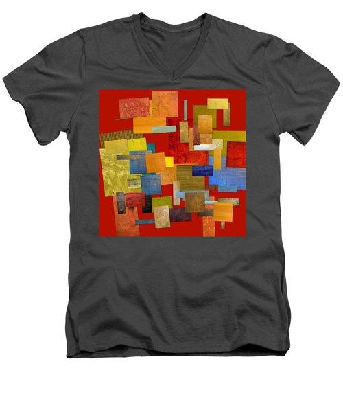 Scrambled Eggs L Men's V-Neck T-Shirt