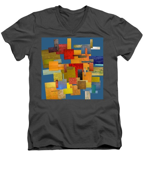 Scrambled Eggs Lv Men's V-Neck T-Shirt