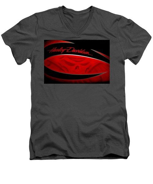 Harley Boo Men's V-Neck T-Shirt