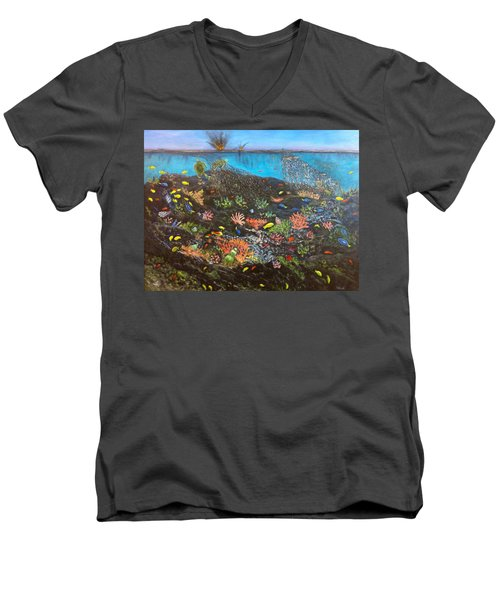 Sea Assault Men's V-Neck T-Shirt
