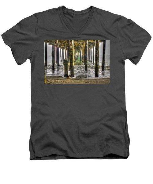 Seacliff Pier Men's V-Neck T-Shirt