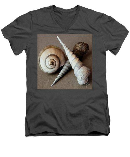 Seashells Spectacular No 24 Men's V-Neck T-Shirt