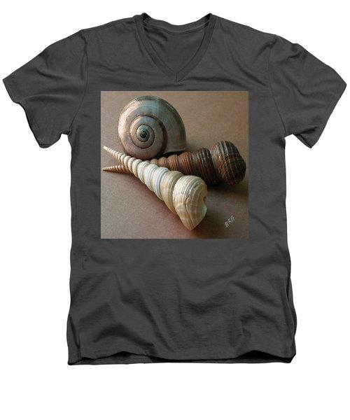 Seashells Spectacular No 29  Men's V-Neck T-Shirt