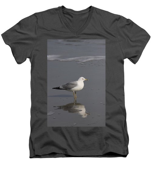 Seaside Sentinel Men's V-Neck T-Shirt