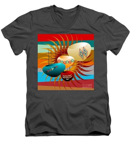 Sedona Still Life 2012 Men's V-Neck T-Shirt