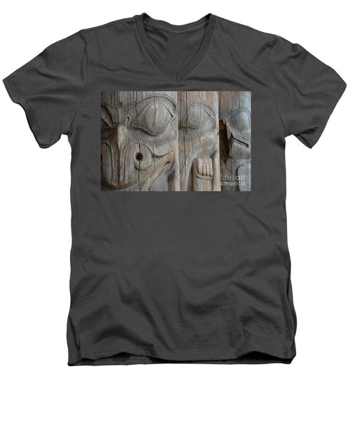 Seeing Through The Centuries Men's V-Neck T-Shirt