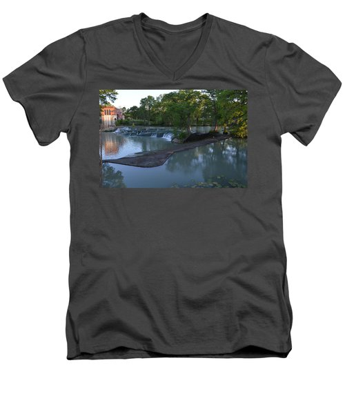 Seguin Tx 01 Men's V-Neck T-Shirt