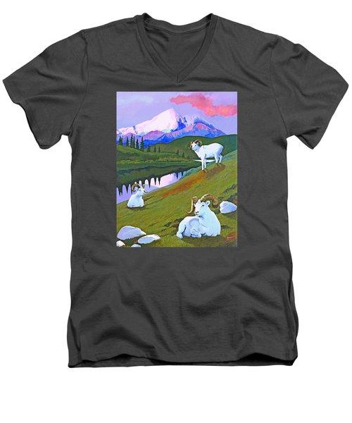 Sentinel Denali Men's V-Neck T-Shirt