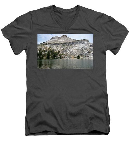 Men's V-Neck T-Shirt featuring the photograph Serenity by Brian Williamson