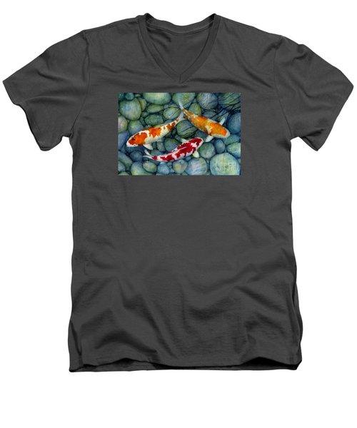 Serenity Koi Men's V-Neck T-Shirt
