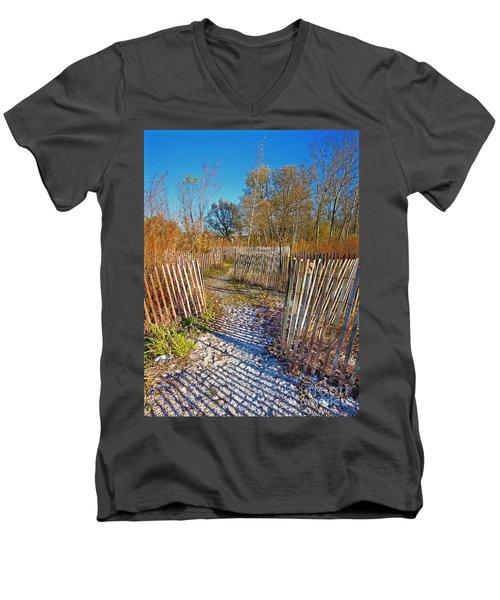 Serenity Trail.... Men's V-Neck T-Shirt