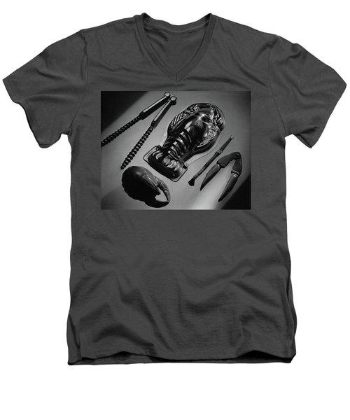 Serveware For Lobster Men's V-Neck T-Shirt