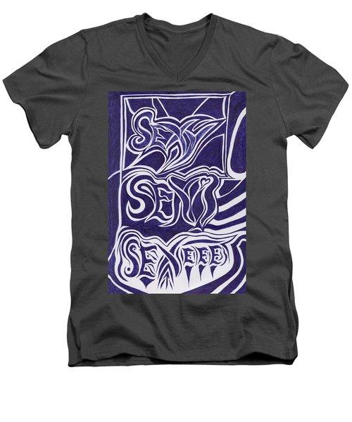 Sexy Sexi Sexeee Men's V-Neck T-Shirt