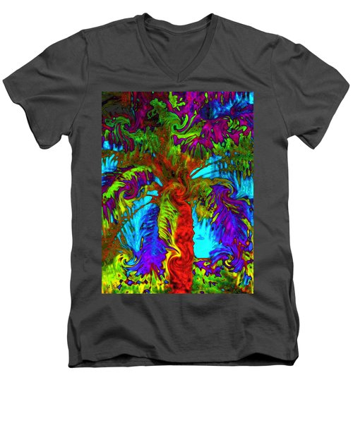 Shade Trees On Venus Men's V-Neck T-Shirt