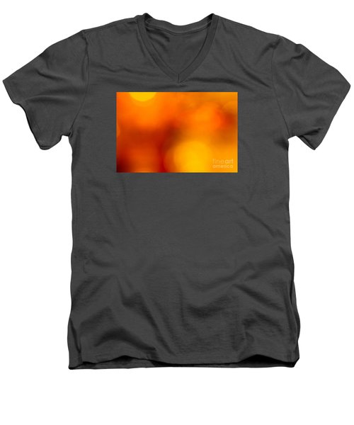 Men's V-Neck T-Shirt featuring the photograph Shades Of Spheres by Cathy Dee Janes